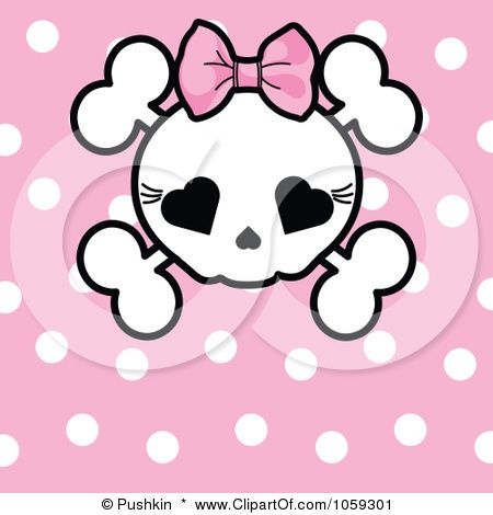 Sugar Skull clipart bow Clip Skull about images on