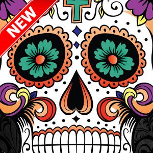Sugar Skull clipart candy Sugar Skull on Google Android