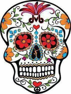 Sugar Skull clipart classic E illustration eps eps in