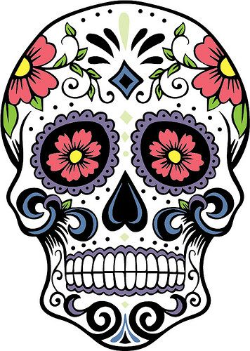 Sugar Skull clipart classic Pinterest Sugar drawings More Best