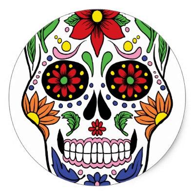 Sugar Skull clipart classic Mexican Classic Sticker Dead Sugar