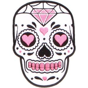Sugar Skull clipart classic Polyvore Skulls & PINK SUGAR