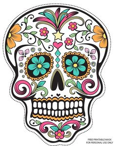 Sugar Skull clipart creepy Tattoo Sugar result skulls Pinterest