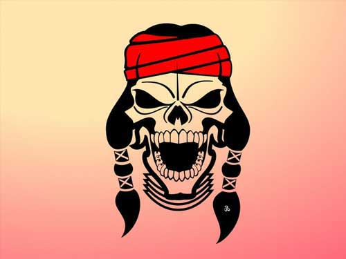 Sugar Skull clipart creepy Vectors Designs Skulls skulls Punk