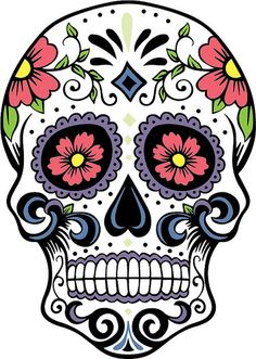Sugar Skull clipart creepy The Pages Craft Sugar Coloring