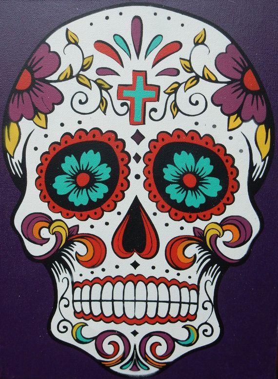 Sugar Skull clipart dia del Canvas 25+ best Skull Not