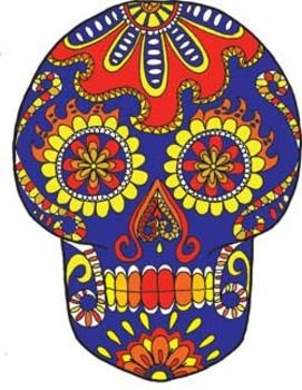 Day Of The Dead clipart skull DAY SKULL images SUGAR on