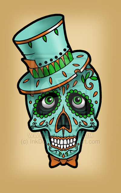 Sugar Skull clipart dotd Janet Day the Day