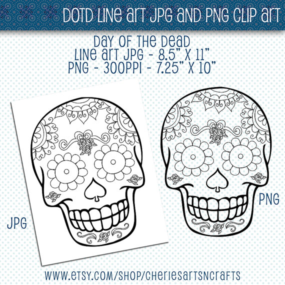 Sugar Skull clipart dotd The Elements File Art the