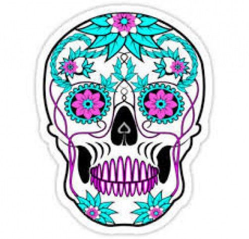 Sugar Skull clipart dotd Skull scheme the Sugar (Primarily