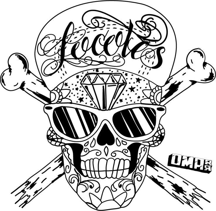 Sugar Skull clipart graffiti Clip Skull Drawings skull