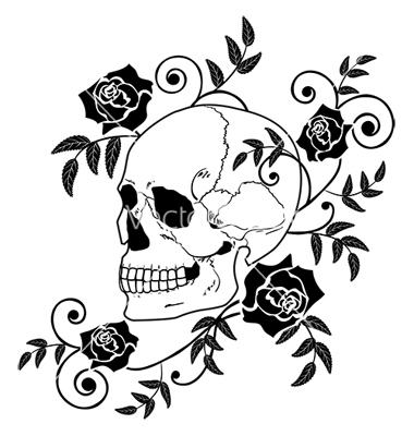 Sugar Skull clipart graffiti Pinterest More roses Graffiti vector