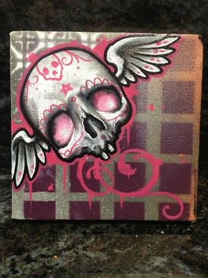 Sugar Skull clipart graffiti Skulls Graffiti Art Painting Pinterest