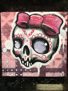 Sugar Skull clipart graffiti Girly Graffiti  Art Dead