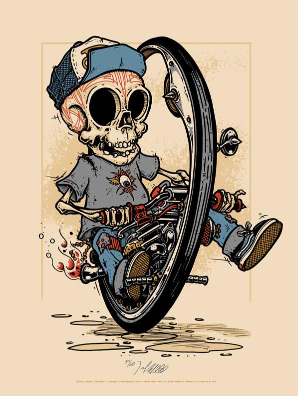 Sugar Skull clipart graffiti Day of Tidwell the Monocycle