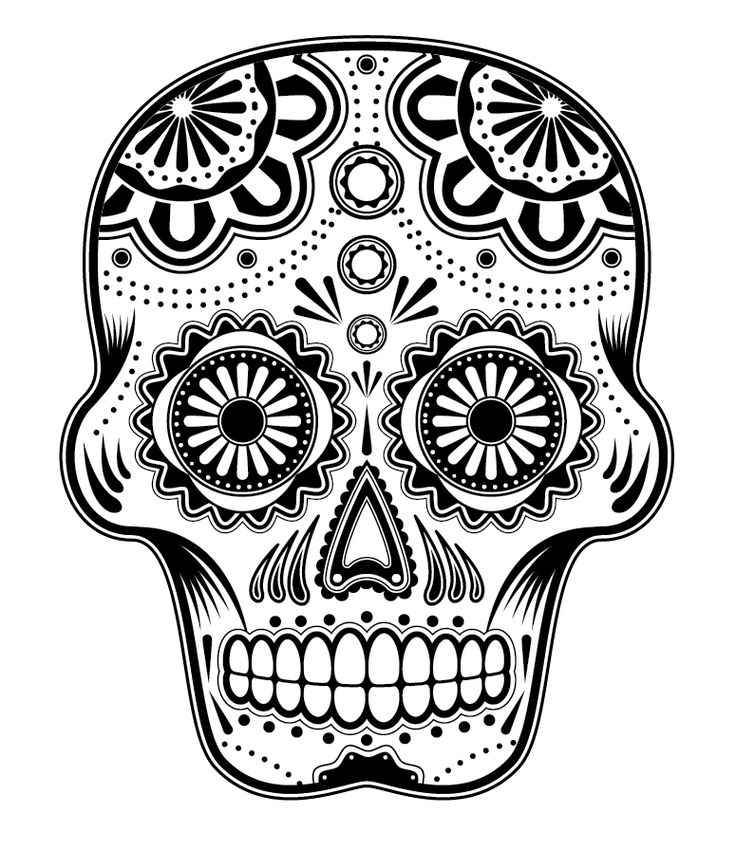 Drawn skull fun Dead Sugar Pinterest a SkullsCandy