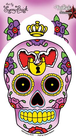 Sugar Skull clipart heart – Sugar Daydream Sunny Locket