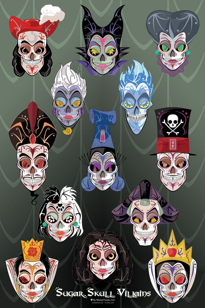 Sugar Skull clipart heart Images Disney Skulls is MYantzLLC