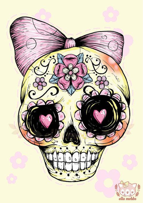 Sugar Skull clipart heart On Skull It Heart image