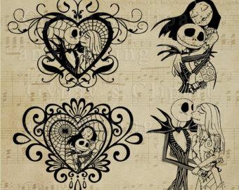 Sugar Skull clipart heart Dxf Halloween de the svg