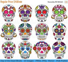Sugar Skull clipart indie Clipart Sugar of of Clipart