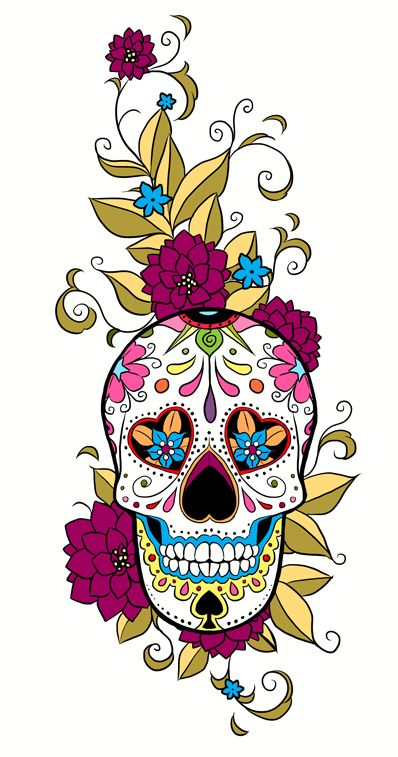 Sugar Skull clipart indie This I this on on