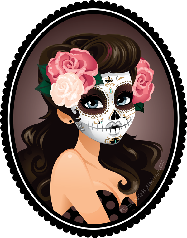 Sugar Skull clipart indie It these less Black to