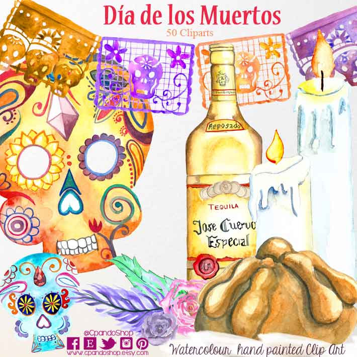 Day Of The Dead clipart papel picado Sugar clipart dead the pictures