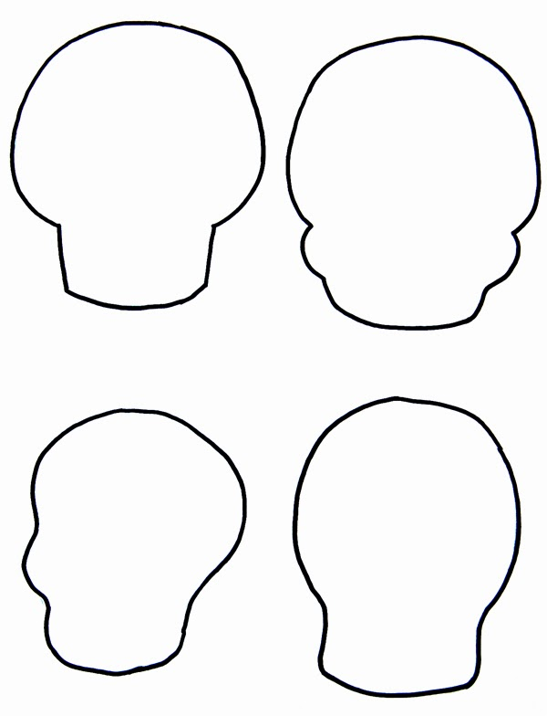 Sugar Skull clipart outline Your Own The Make Patterns