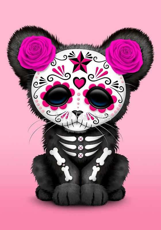 Day Of The Dead clipart la catrina About Skull Pink on skulls