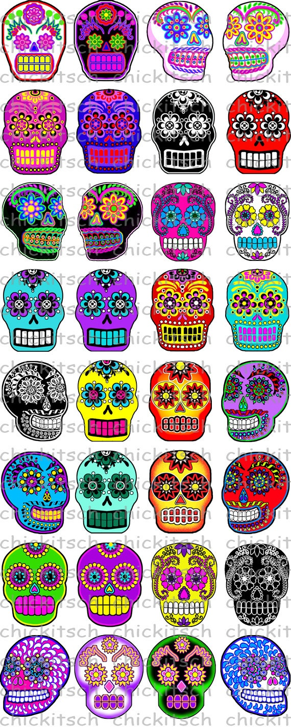 Sugar Skull clipart sad Skull Pictures $1 on ChicKitsch