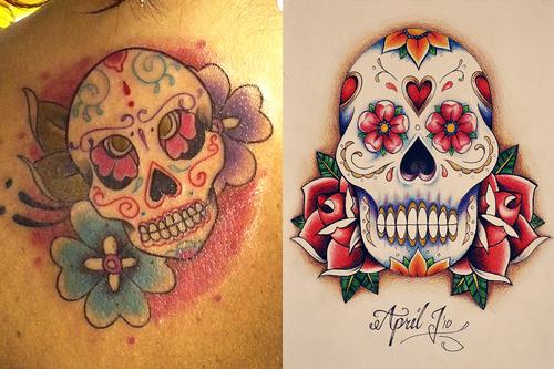 Sugar Skull clipart shugar Tattoos Skull Meaning of Tattoos