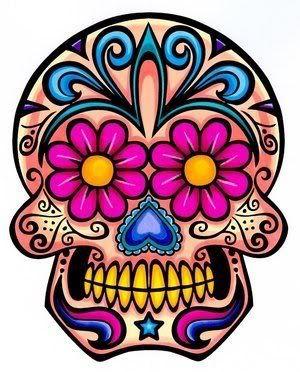 Sugar Skull clipart shugar Pinterest ideas crochet skull RoseCityCrafter