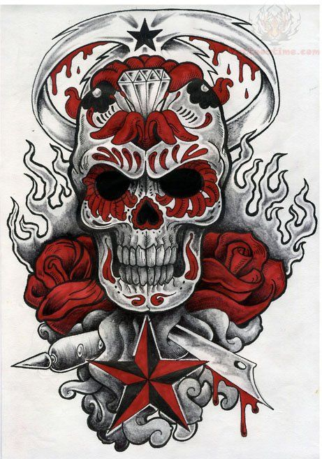 Sugar Skull clipart shugar Ideas tattoos Sugar skull
