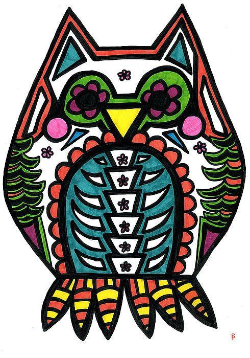 Sugar Skull clipart symmetrical Skulls Print  Sugar Pinterest