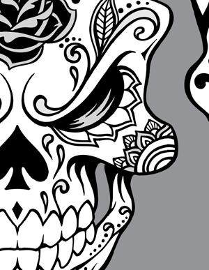 Sugar Skull clipart tribal SUGAR VECTOR Nice tribal+sugar+skulls SKULL