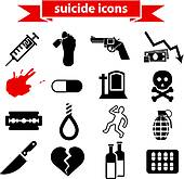 Suicide clipart suffocation Royalty icons Art Suicide Clip