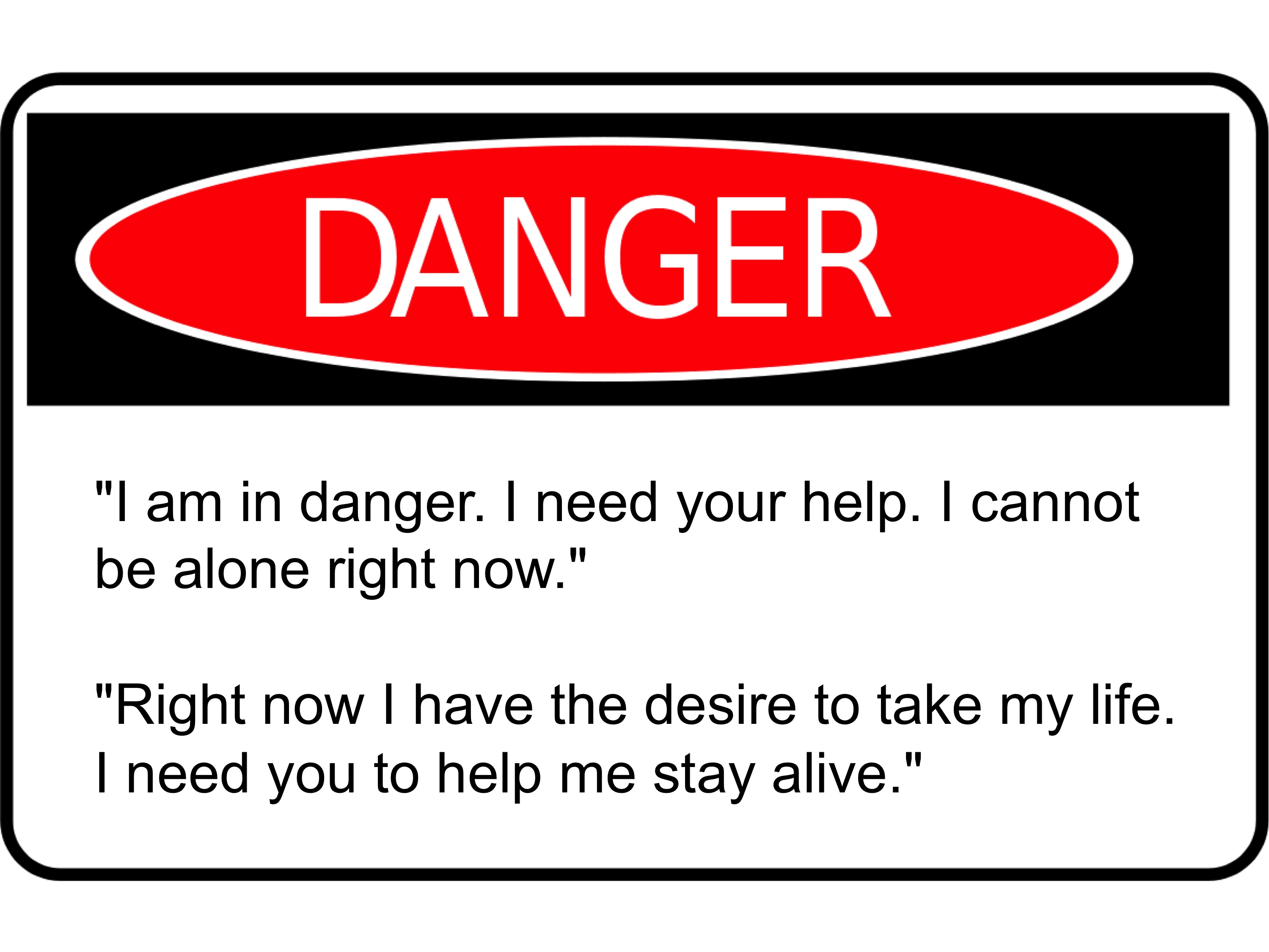 Suicide clipart caution sign Signs Signs Warning Warning Suicide