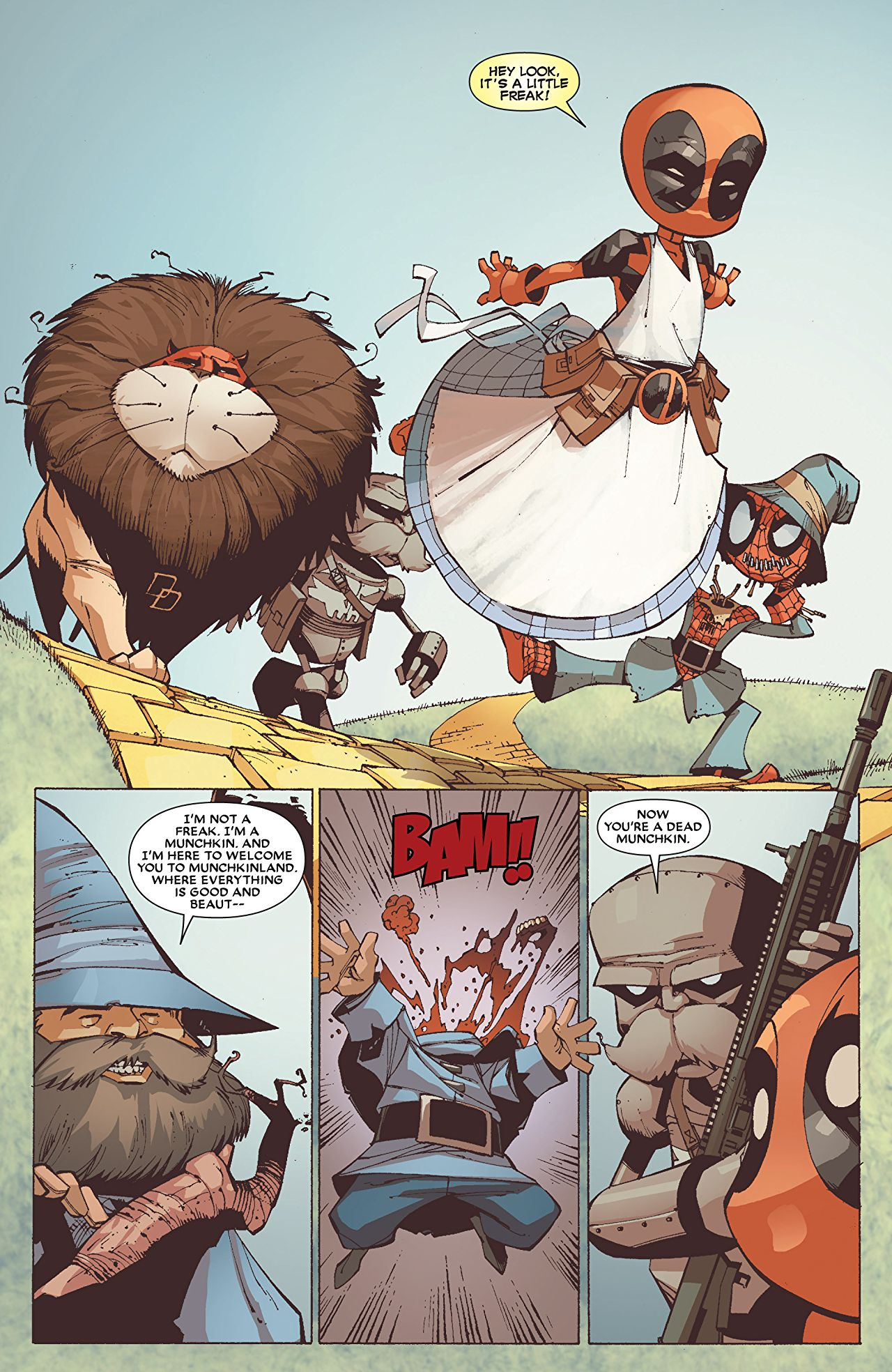 Suicide clipart deadpool 5) #4 Kings #4 by