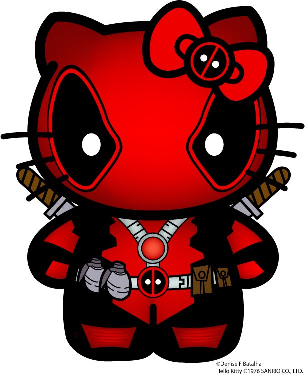 Suicide clipart deadpool Not so mouth ideas kitty