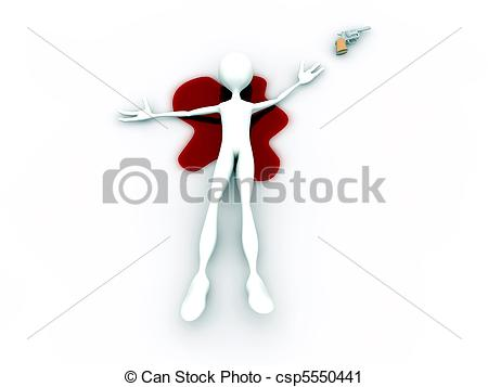 Suicide clipart weak man Art suicide Illustration Illustration suicide