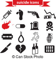 Suicide clipart weak man Of his Suicide of a