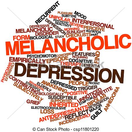 Suicide clipart word Art Melancholic Word for depression