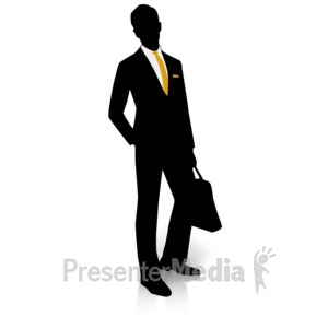 Suit clipart educated person And Silhouette of Clipart Suit