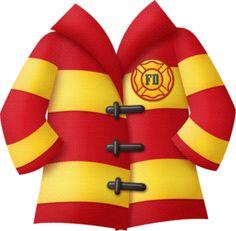 Coat clipart fireman KAagard_FiredUp__Paper8 brandweer Bombeiros Minus