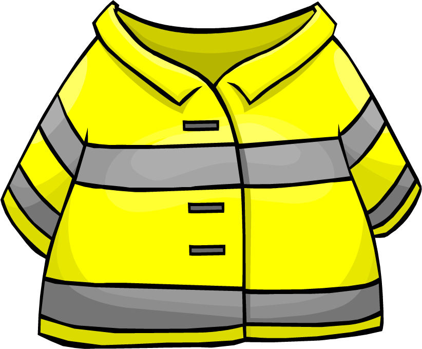 Firefighter clipart clothes Penguin Wikia Club Jacket Wiki