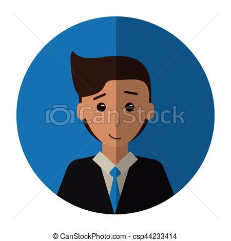 Suit clipart man shadow Tie Vector man young shadow