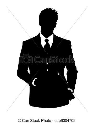 Suit clipart office man Man avatar man of Clip
