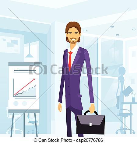 Suit clipart office man Business of suit briefcase suit