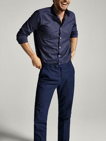 Suit clipart shirt collar Men's Pre ESTRUCTURA Dutti Collection
